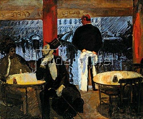 Albert Weisgerber: Pariser Restaurant.