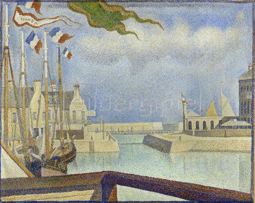 Georges Seurat: Sonntag in Port-en-Bessin. 1888