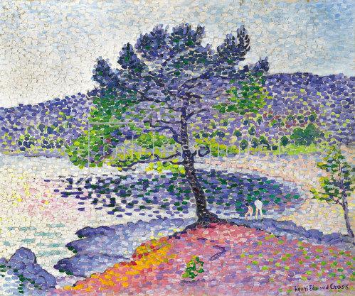 Henri Edmond Cross: Strand bei Abendlicht. 1902