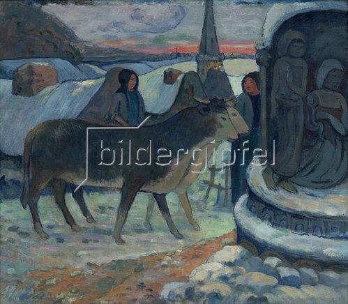 Paul Gauguin: Die Heilige Nacht.
