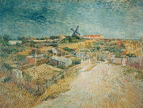 Vincent van Gogh: Gemüsegärten auf dem Montmartre.