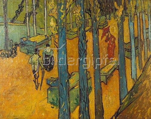 Vincent van Gogh: Die Alyscamps, Arles. 1888