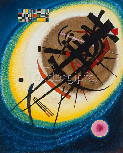 Wassily Kandinsky: Im hellen Oval. 1925.