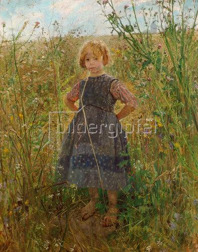 Fritz von Uhde: Heideprinzeßchen. 1889