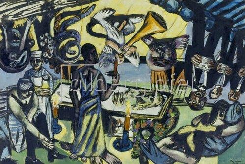 Max Beckmann: Tod. 1938.