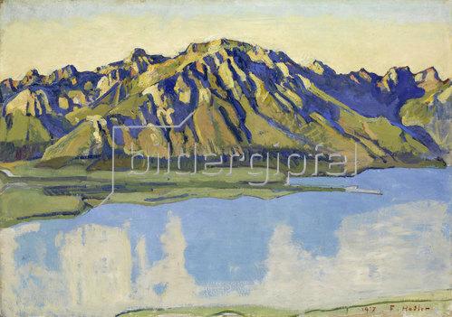 Ferdinand Hodler: Der Grammont in der Morgensonne. 1917
