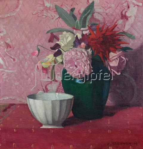 Felix Vallotton: Grüne Vase und weiße Schale. 1919