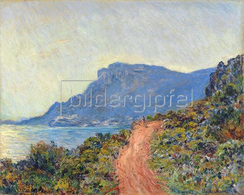 Claude Monet: La Corniche nahe Monaco