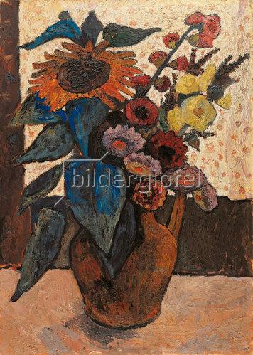 Giovanni Migliara: Stilleben mit Blumen. 1907.