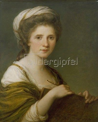 Angelika Kauffmann: Selbstbildnis. 1784.