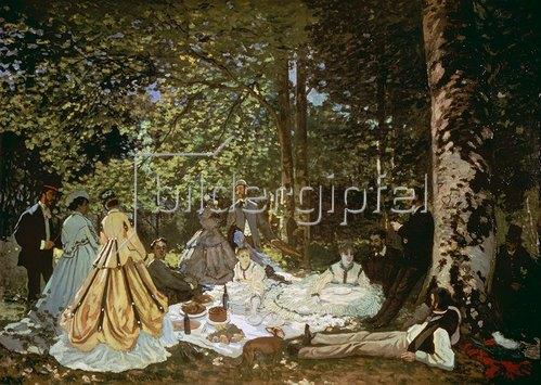 Claude Monet: Das Frühstück im Grünen. 1866