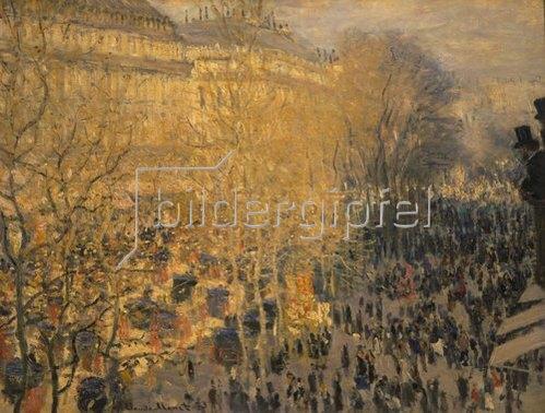 Claude Monet: Der Boulevard des Capucines. 1873