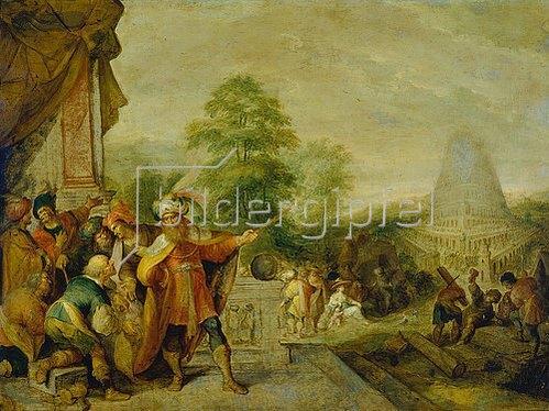 Frans Francken II.: Der Turmbau zu Babel.