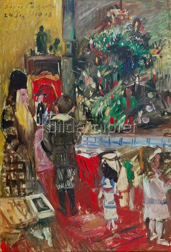 Lovis Corinth: Weihnachtsbescherung. 1913