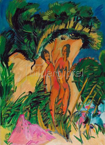 Ernst Ludwig Kirchner: Mädchen auf Fehmarn. 1913