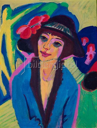 Ernst Ludwig Kirchner: Bildnis Gerda. Um 1914
