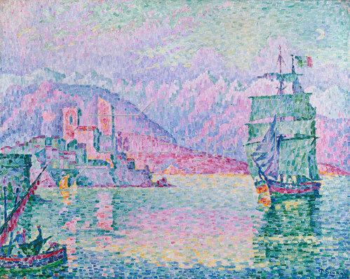 Paul Signac: Antibes, Blick vom Cap. 1914