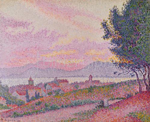 Paul Signac: Blick auf St. Tropez. 1896