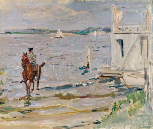 Max Slevogt: Badehaus an der Havel. 1912