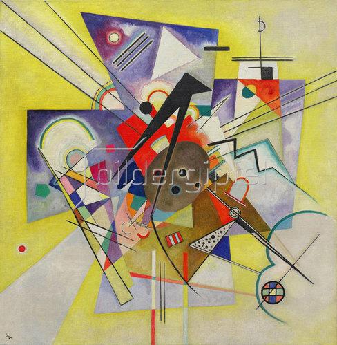 Wassily Kandinsky: Gelbe Begleitung. 1924