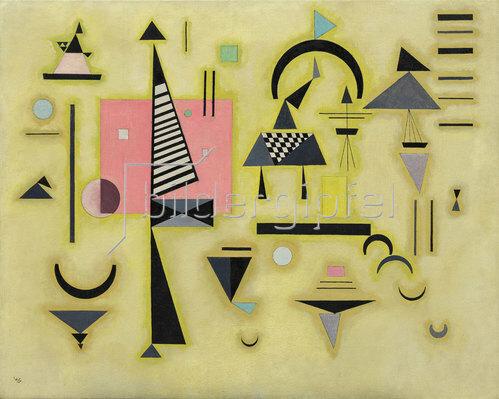 Wassily Kandinsky: Entscheidendes Rosa. 1932