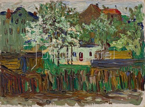 Wassily Kandinsky: München. Um 1901-02