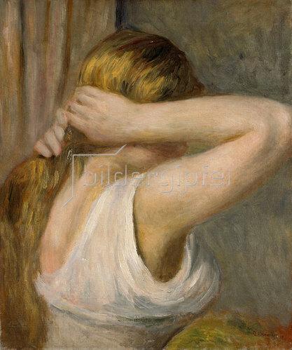 Auguste Renoir: Junges Mädchen mit erhobenen Armen. Um 1895.