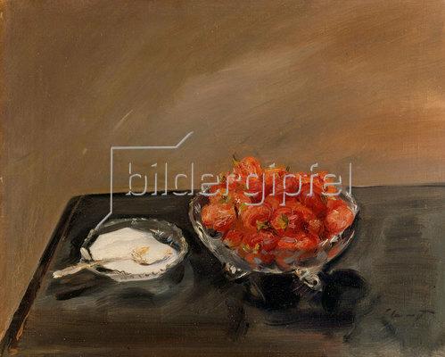 Max Slevogt: Erdbeeren. 1909.