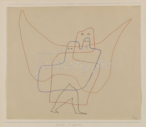 Paul Klee: In Engelshut. 1931