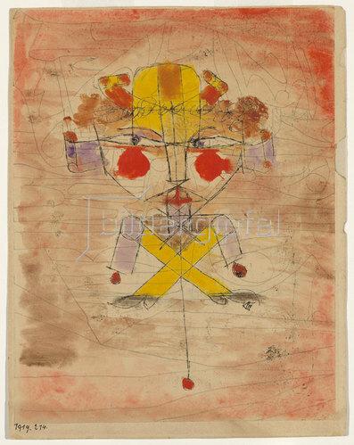 Paul Klee: Hampelmann. 1919