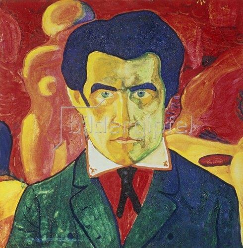 Kasimir Malewitsch: Selbstbildnis. 1908