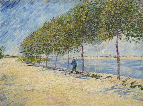 Vincent van Gogh: An der Seine 1887