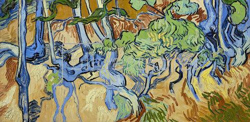 Vincent van Gogh: Baumwurzeln 1890