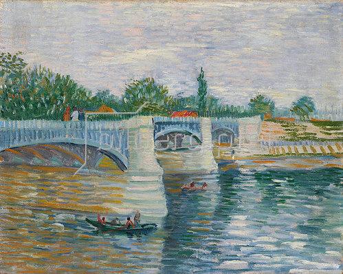 Vincent van Gogh: Die Brücke von Courbevoie 1887