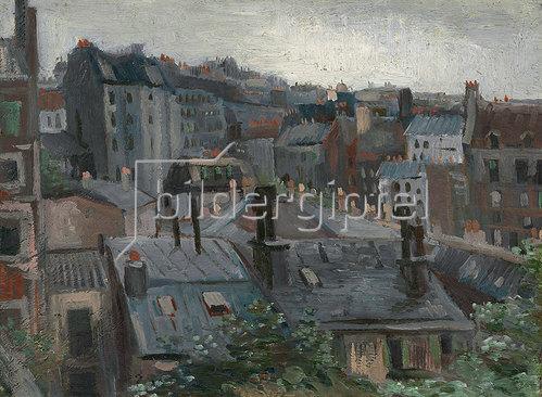 Vincent van Gogh: Blick aus dem Atelier des Künstlers