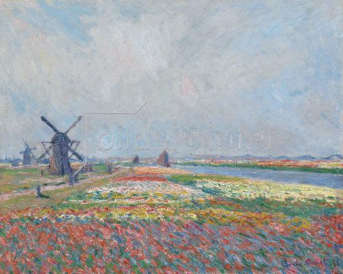 Claude Monet: Tulpenfelder in der Nähe von Den Haag