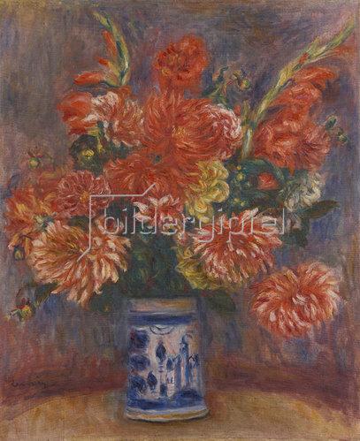 Auguste Renoir: Dahlien. 1918
