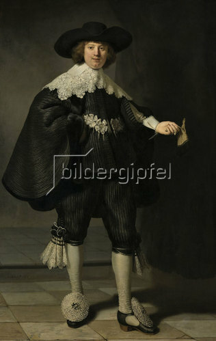 Rembrandt van Rijn: Portrait von Marten Soolmans. 1634