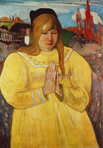 Paul Gauguin: Bretonisches Mädchen. 1984