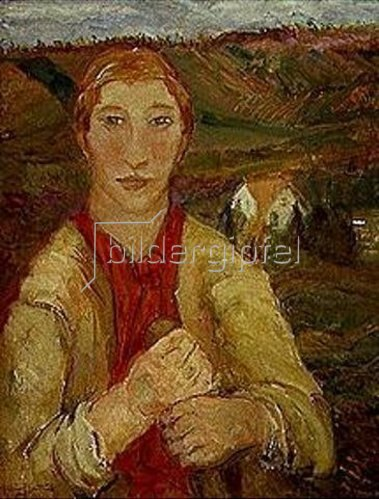 Marie Bermond: Die Bäuerin.