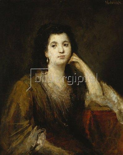 Franz von Lenbach: Russische Fürstin. 1863