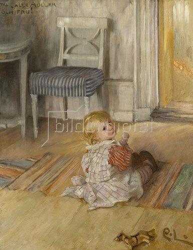 Carl Larsson: Pontus. 1890