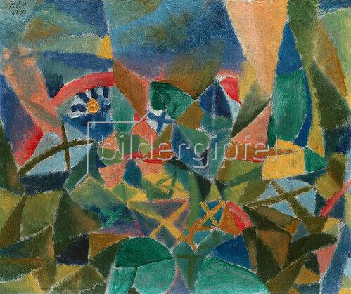 Paul Klee: Blumenbeet. 1913