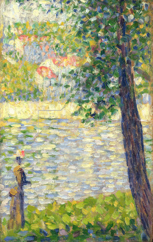 Georges Seurat: Morgenspaziergang. 1885