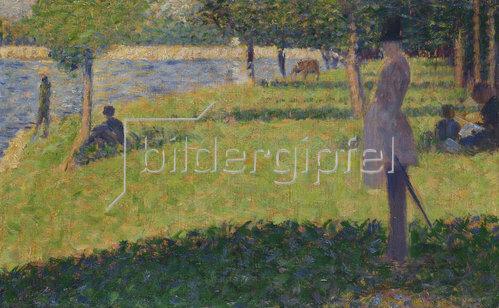 Georges Seurat: Studie für 'La Grande Jatte'. 1884-85