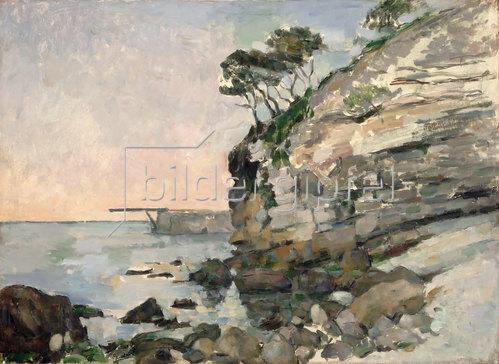 Paul Cézanne: L'Estaque bei Abendlicht (L'Estaque, effet du soir).