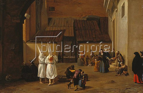 Pieter van Laer: Flagellanten.