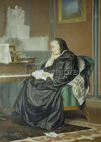 Carl Johann Arnold: Bettine von Arnim, geborene Brentano. 1859