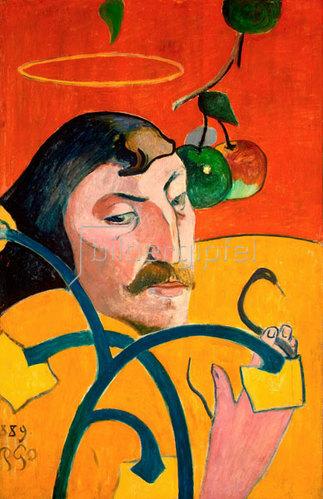 Paul Gauguin: Selbstporträt.