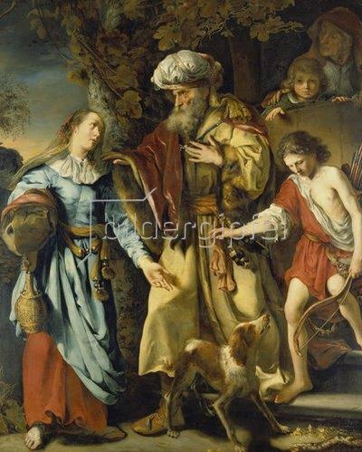 Gottfried Kneller: Abraham, Hagar und Ismael